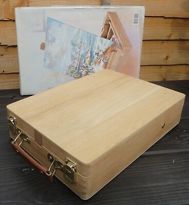 Artists Wooden Tabletop Box Easel - Unused in original box