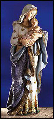 Virgin Mary Madonna and Infant Jesus Christ Child Church Figure Statue, 23 Inch