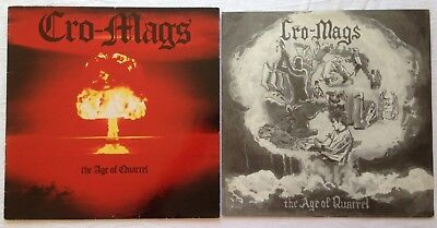 CRO-MAGS  age of quarrel LP 1.Press 1986 NYHC Warzone Skinhead Bloodclot Punk Oi