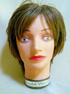 Vintage Model Viola Pivot Point 0893M Mannequin Head / Hair Dresser Training