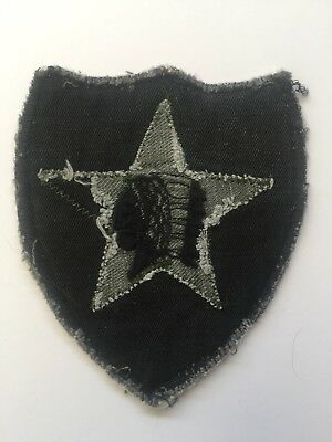 1960 / 1970s Locally Made US 2nd Infantry Division Patch