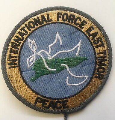 INTERFET Peacekeeper Patch - East Timor