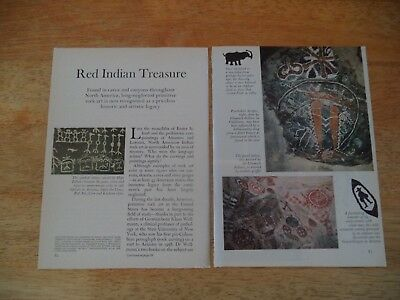 Red Indian Treasure  Vintage Magazine Article     7    8      D    E