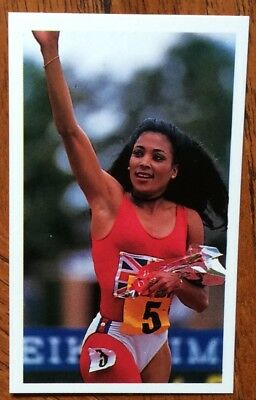 Florence Griffith Joyner, Sprinter, Scarcer Junior Question Of Sport Card 1988