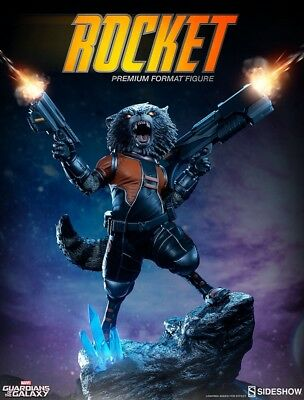 Rocket Raccoon Premium Fortmat Figur von Sideshow Guardians of the Galaxy