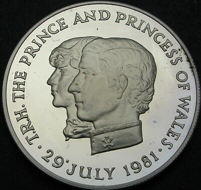 MAURITIUS 10 Rupees 1981 Proof - Silver - Royal Wedding - 670 ¤