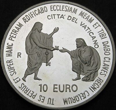 VATICAN 10 Euro 2003 Proof - Silver - Pontificate of Pope John Paul II - 643 ¤