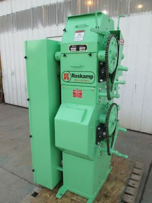 Roskamp 9X12 two pair high roller mill ( single Phase )