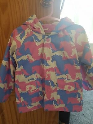 Hatley Girls Rain Coat Age 18-24 months. Good condition