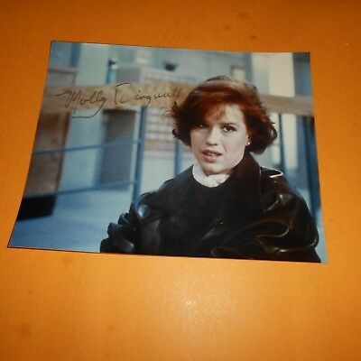 Molly Ringwald is an American actress, singer, and author Hand Signed Photo