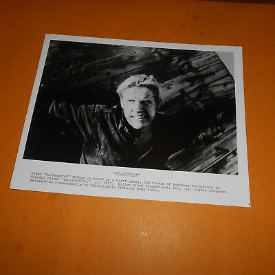 """Gary Busey is an American actor Hand Signed Photo """"Bulletproof"""""""
