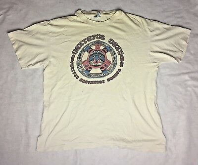 Vintage 1982 Grateful Dead Tour Shirt Pacific Northwest GDP - Size Large