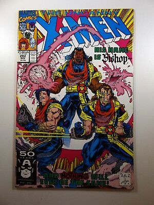 """The Uncanny X-Men #282 1st Appearance """"Cameo"""" of Bishop WAM Insert VF-NM!!"""