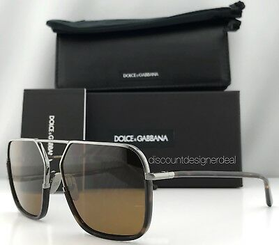 e4813fb3349 Dolce   Gabbana DG 2193J ROYAL Sunglasses 04 73 Ruthenium Havana Brown 59mm