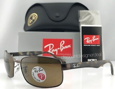 384fd8af1d Ray-Ban RB3478 Polarized Sunglasses 014 57 Brown Havana Brown Brand New 60mm