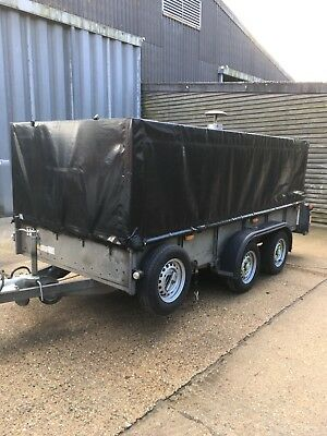 Trailer Mounted Pressure Washer Steam Cleaner Dirt Driver Ndhm Only 250 Hours!