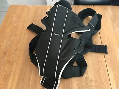 Original Baby Bjorn Baby Carrier Back Lumbar Support Black Grey 8 To 26 LBS