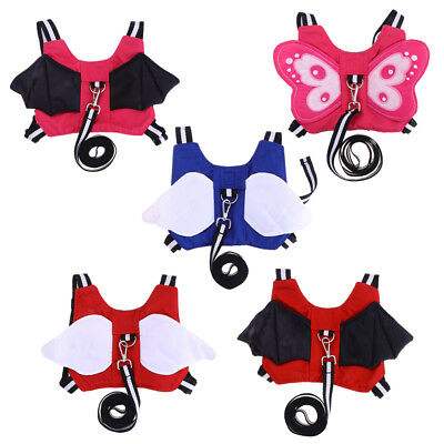 Toddler Anti-lost Walking Safety Harness with Leash Cute Baby Strap Backpack