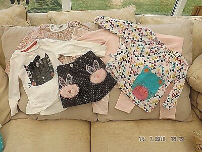 Girls Mixed Bundle of Clothes - Age 12-18 Months