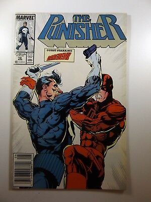 The Punisher #10 '87 On-Going Series! Guest Starring Daredevil!! NM- Beauty!!