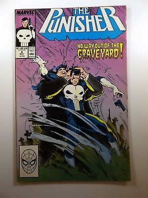 The Punisher #8 '87 On-Going Series Sharp VF- Condition!!
