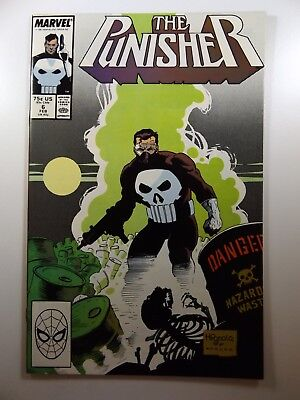 The Punisher #6 '87 On-Going Series Beautiful VF-NM Condition!!