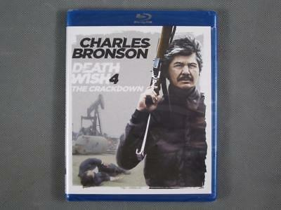 Brand New Sealed Charles Bronson Death Wish 4 The Crackdown on Blu-Ray Only