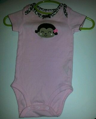 Girls T-Shirts 2pack by Carter's and Converse 3-6months Pink