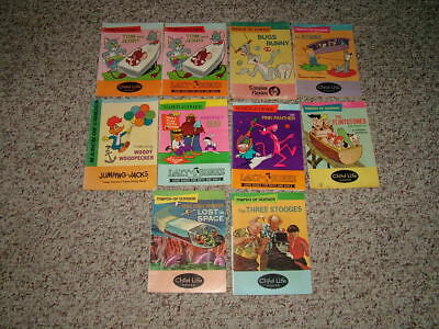 Lot of 10 Silver Age March of Comics-Three Stooges, Flintstones, Lost in Space