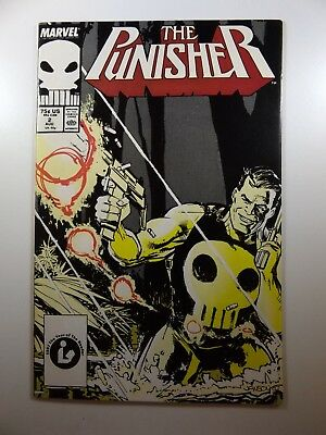 The Punisher #2 '87-Series Ongoing Series Beautiful VF-NM Condition!!