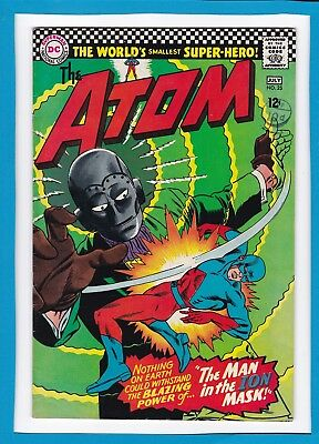 """The Atom #25_July 1966_Very Fine+_""""the Man In The Ion Mask""""_Silver Age Dc!"""