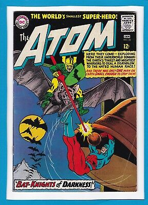 """The Atom #22_January 1966_Very Fine Minus_""""bat-Knights Of Darkness""""_Silver Age!"""