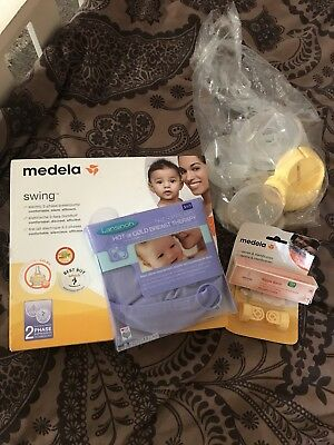 medela swing electric 2 phase breast pump - hardly used - in original box