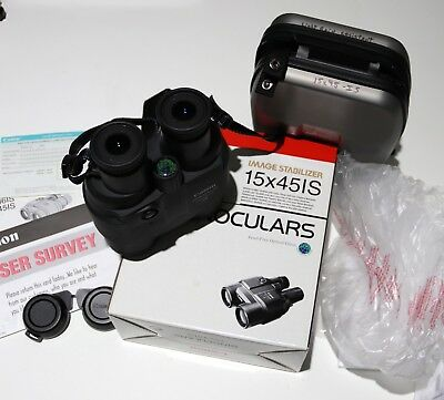 NEW Canon 15x45 IS Image Stabilizer Binoculars - UD GLASS