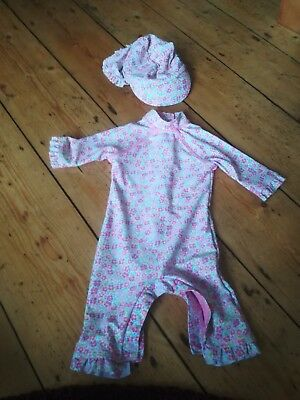 Floral Sunsafe UV suit from Mothercare