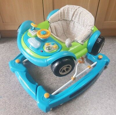 2 in 1 car walker mothercare with original box
