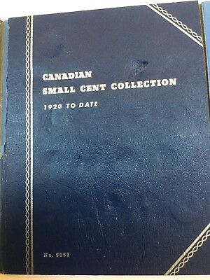 1920 To Date Canadian Small Cent Collection (27 Coins)
