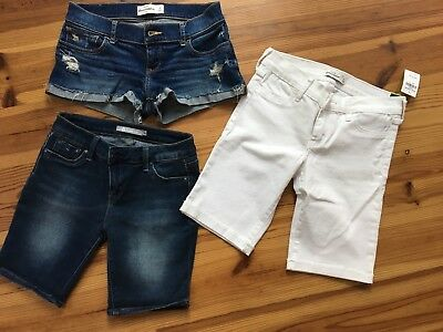 Abercombie & Fitch and Tractor shorts -lot of 3, size 14