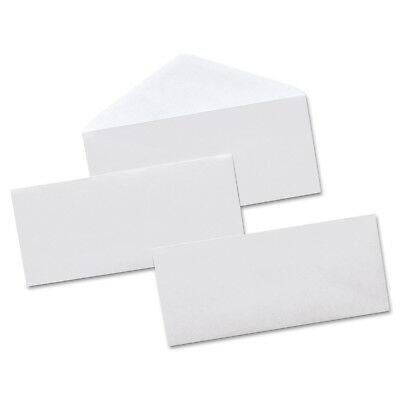 Universal Security Tinted Business Envelope, 10, 4 1/8 x 9 1/2, White, 500/Box