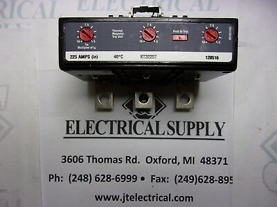 KT3225T - EATON - 225 Amp, 3 Pole, Series C - Thermal Magnetic Trip Unit