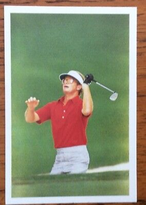 Tom Kite, Golfer, Question Of Sport Card 1987  Mint Condition