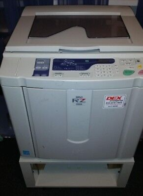 Riso Rz220 UI in excellent condition - LOW HOURS with supplies