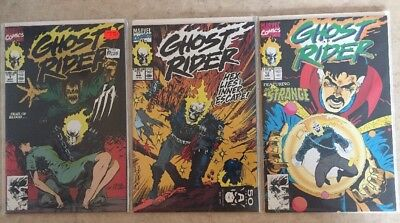 GHOST RIDER #7, 11 & 12 (2nd Series) Marvel VF/NM Cond!