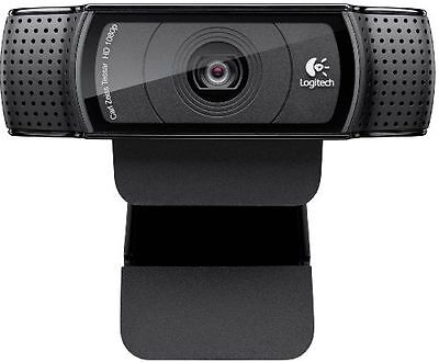 NEW UK STOCK Logitech HD Pro C920 Webcam 1080p Youtube Skype + FREE Argos C&C