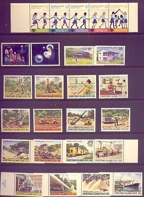 Christmas Island: A Lovely  Set Of Stamps Muh     Low    Reserve