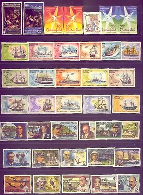 Christmas Island: A Beautiful  Set Of Stamps Muh     Low    Reserve