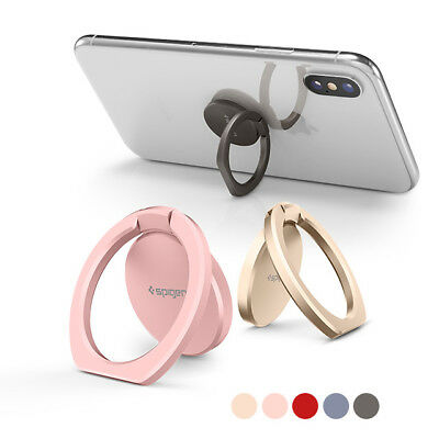 Phone Ring Holder Spigen® [Style Ring 360] Magnetic Car Mount 360° for Universal