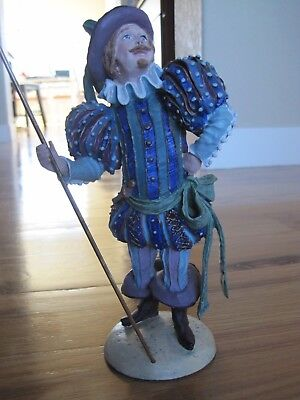 """DUNCAN ROYALE  Lord of Misrule 1985 History of Santa II Limited Edition 10.5"""""""