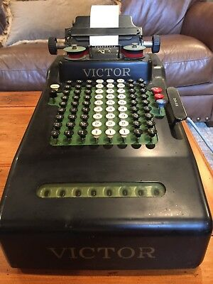 Vintage Victor Adding Machine - Electric