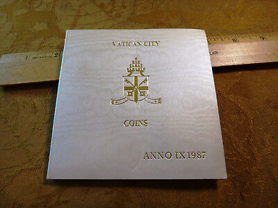 Original Vatican City 1987 Mint Coins Pontificate Of John Paul II - Free S&H USA
